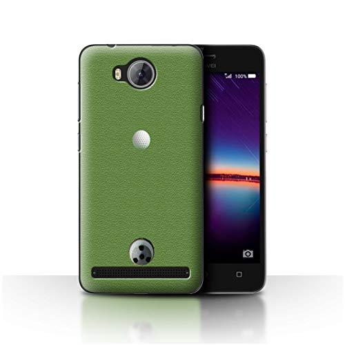 Stuff4® Hülle/Case für Huawei Y3II/Y3 2 / Putten Muster/Golfsport-Fan Kollektion