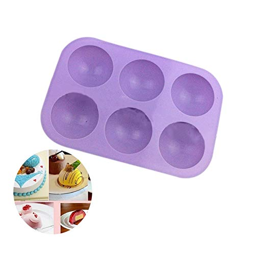 Square Muffin Pan (Cake Molds - Silicone 6 Round Shape Mold Muffin Pan Jelly Cupcake Candy Cake Chocolate Mould Baking Tb - Shapes Metal Numbers Square Diamond Alphabet Kids Rectangle Lamb Round Unicorn Si)