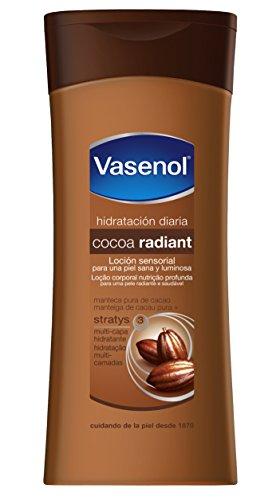 Vasenol Lozione Corporale, Cocoa Radiant Loción Sensorial, 400 ml