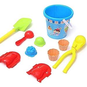 barsku Schneeball Hersteller, Winter-Schneeball-Spielzeug – 9 Teile Schneeball-Hersteller für Kinder und Erwachsene Schneeballkämpfe Lustiges Schneeballspielzeug für Outdoor-Aktivitäten im Winter