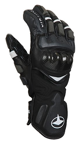 Viking Handschuhe Winter Skihandschuhe Racing Damen - mit Leder - atmungsaktiv - mit HYPERLOFT Gewebe - Spectrum, 09 schwarz, 8