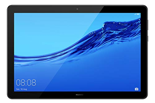Huawei Media Pad T5 - Tablet 10.1' Full HD (Wifi, RAM de 3 GB, ROM de 32 GB, Android 8.0, EMUI 8.0) color negro
