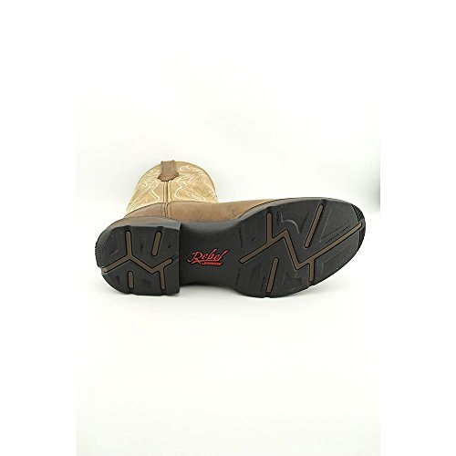 Durango Boots Stiefel Pull-On DWDB018 Westernreitstiefel mit Stahlkappe Mahogany Teal