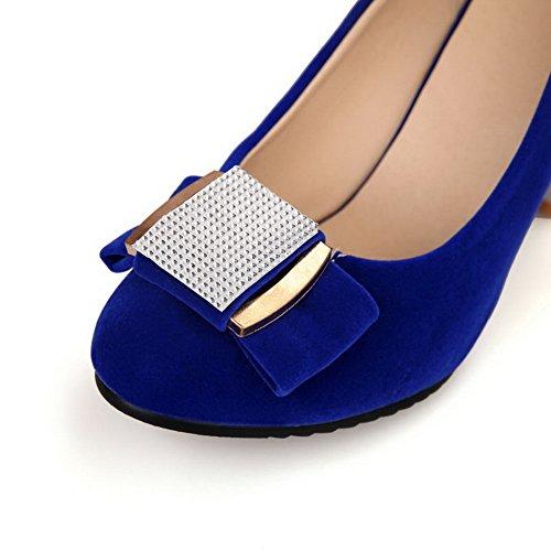 BalaMasaApl10078 - Sandali con Zeppa donna Blue