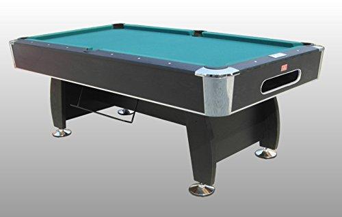 Tavolo da Biliardo regolamentare Black Norman Carambola Completo di Tutti Gli Accessori