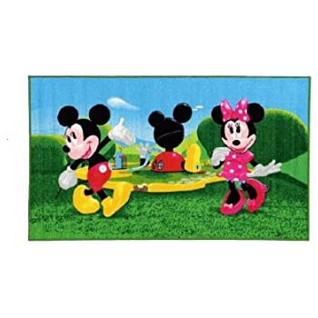 kinder teppich kinderteppich minnie mouse teppich kinder teppich kinderspielteppich. Black Bedroom Furniture Sets. Home Design Ideas