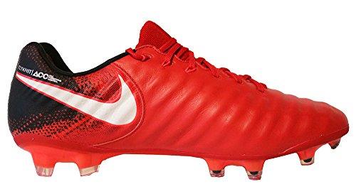 Nike Herren Tiempo Legend VII FG Fußballschuhe UNIVERSITY RED/WHITE-BLACK