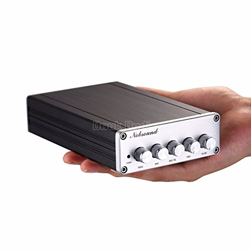 Nobsound HiFi TPA3116D2 2 1 Channel Digital Audio Power Amplifier Stereo  Amp 2×50W+100W Subwoofer Treble Bass Independent Adjustment (without power