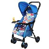 CDREAM Kinderwagen Leichter Buggy mit Sonnenverdeck Safety 1st Kompakter,B-Blue