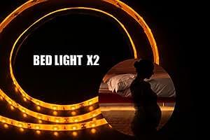 led streifenlicht bewegung aktiviert bett licht vilsom flexibler led streifen bewegungsmelder. Black Bedroom Furniture Sets. Home Design Ideas