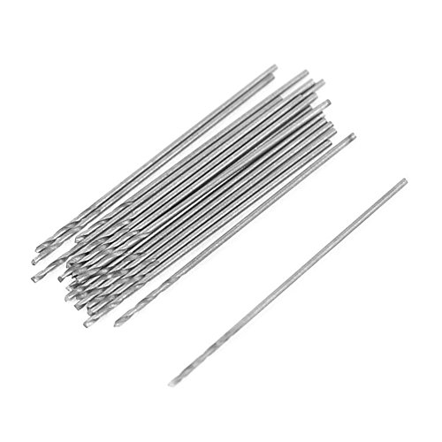 EU/_HOZLY 3.175X1.0X3mm Down Cut Left-Handed 1 Flute End Mill Carbide Cutting Tools Bits On Clean Machining Acrylic//Woodworking Pack of 10