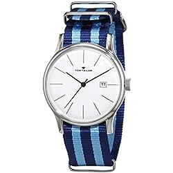 TOM TAILOR Watches Herren-Armbanduhr Analog Quarz Nylon 5415102