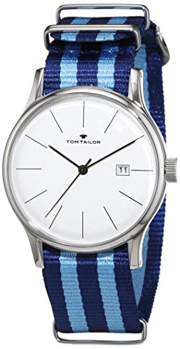 Tom Tailor - 5415102 - Montre Homme - Quartz - Analogique - Bracelet nylon multicolore