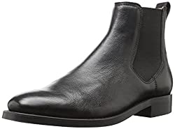 Aldo Gilmont Chelsea Boot Black Leather 10 D(M) US