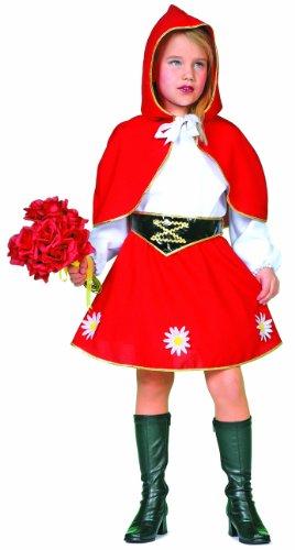 Wilbers Federbein Little Red mit Kapuze Mädchen (Pro Kostüme Cheerleader)