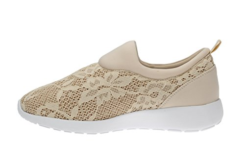 GOLD & GOLD - SLIP ON CON PIZZO Beige