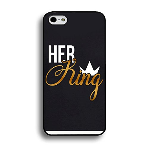 Art King Queen Case for Iphone 6 Plus/6s Plus 5.5 Inch Funny Cool Cartoon Cover Fashion Couples Hard Phone Cases for Iphone 6 Plus/6s Plus 5.5 Inch Color159d