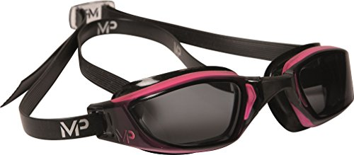 mp-michael-phelps-womens-xceed-swimming-goggles-pink-black-dark-tint-lens