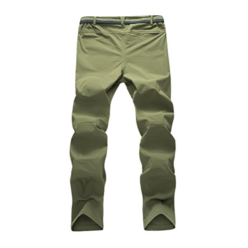 Zhuhaitf Salut-qualité Simple Solid color Mens Womens Outdoor Casual Sports Quick-dry Elasticity Unisex Pants Trousers Black-Mens