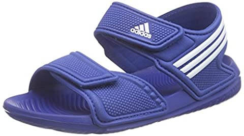 adidas Performance Unisex-Kinder Akwah 9 C Dusch-& Badeschuhe, Blau (Eqt