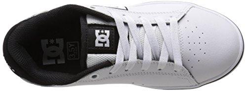 DC Notch Low Top Chaussures de garçon Blanc