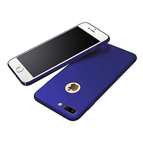 Coque iPhone 7 Plus, Vanki Ultrathin Micro Matte Non-slip No-fade PC Phone Case Cover For iphone7 Plus (vert) pourpre