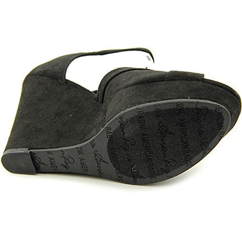 American Rag Audrey Damen Textile Keilabsätze Sandale Black