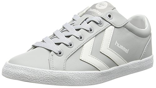 Hummel DEUCE COURT SPORT, Sneakers basses mixte adulte Gris (Vapur Blue 1079)