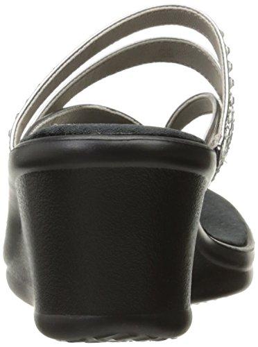 Skechers Damen Rumblers-Hotshot Sandalen Pewter
