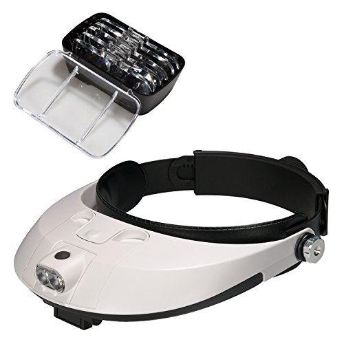 Lysignal Head Magnifier with LED Lamp Light