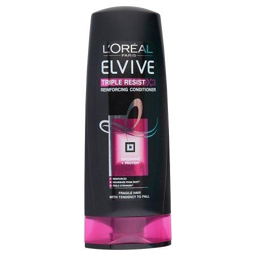 L'Oréal Elvive Triple Resist Conditioner, 400 ml