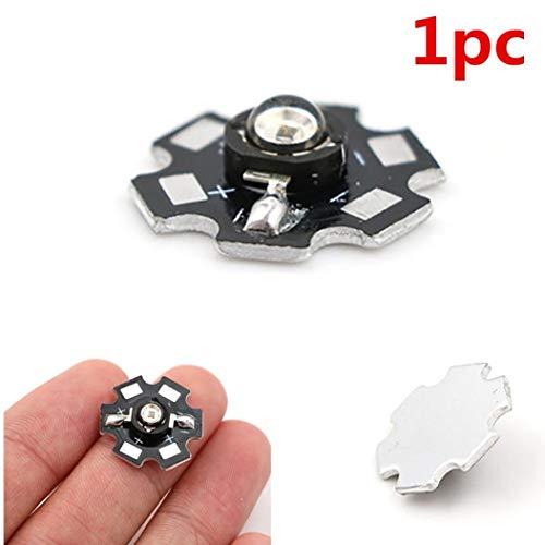 Froiny 1pc 3W hohe Leistung 850nm Infrarot-LED-Licht IR-LED für Nachtsicht-Kamera-Licht