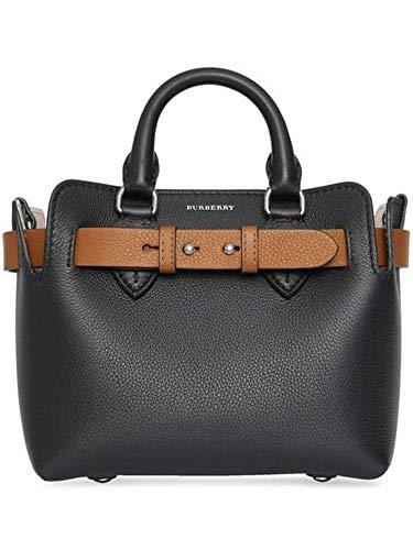 BURBERRY Damen 8006678 Schwarz Leder Handtaschen