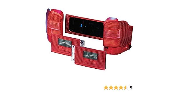 Hella 9el 964 542 021 Heckleuchte Glühlampen Technologie Rauchgrau Rot Innerer Teil Rechts Auto