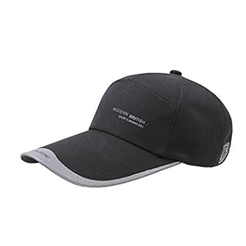 Hats, Unisex Fashion Sun Protection Wide Brim Visor Summer Sun Cap Hats Headwear Lightweight Breathable Quickly Dry Outdoor Sports Baseball Hat Cap Topee UV50+ for Men and Women