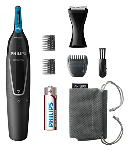 Philips Series 5000 NT5171/15 Nose, Ear & Eyebrow Trimmer with Facial Styler