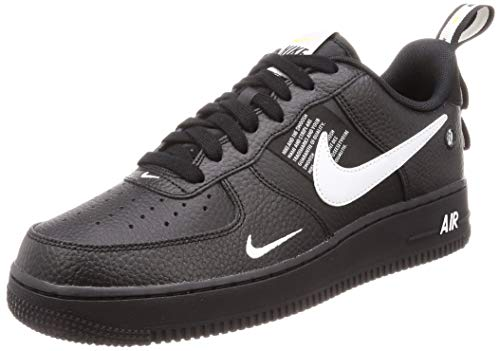 best website 3e57a e77a7 Nike Men's's Air Force 1 '07 Lv8 Utility Gymnastics Shoes White/Black/Tour