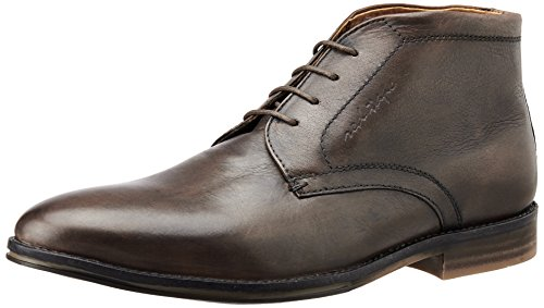 Red Tape Men's Brown Leather Boots - 8 UK