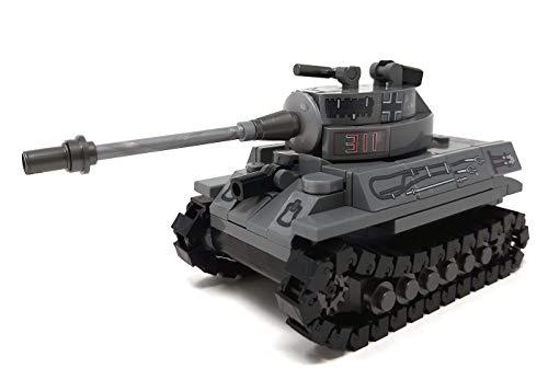 Cobi 2480 Sonderedition - Königstiger PzKpfw VI Tiger II inkl. Panzerkommandant aus original Lego© Teilen thumbnail