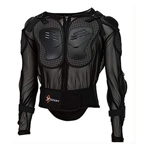 Motorrad-Ganzkörper-Rüstung Schutzjacke Straße Langlauf-Motorrad ATV-Eskorte Mountainbike Racing Hemd Jacke Schutz Aufkleber Männer,L