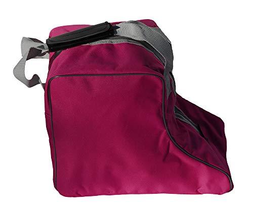 Rhinegold-Tasche für kurze Reitstiefel–Rot, schwarz, marineblau, dunkelpink, dunkelrosa