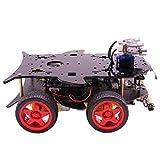F Fityle 4wd Roboter Auto Kit Für Arduino, Roboter Auto DIY Kit