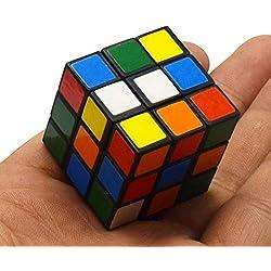 Encoco 3 x 3 Zauberwürfel, Mini-Zauberwürfel, für Erwachsene, Kinder, Party, Gastgeschenk, Schulbedarf, Puzzle-Spiel-Set, Geschenktüte, Geburtstagsgeschenk
