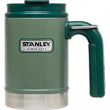 0.47 L Deckel verschlie/ßbar Doppelwandig Stanley GO Ceramivac Thermo-Trinkbecher mit Keramik-Beschichtung Tungsten-blau Thermobecher Isolierbecher Kaffeebecher Vakuumisoliert