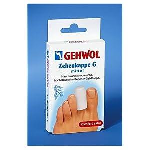 GEHWOL Zehenkappe G, Zeh Kappe, Zehenhaube für die Fußzehen
