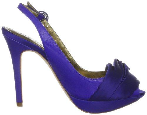 Bourne Betsy, Damen Halbschuhe Blau (Blue)
