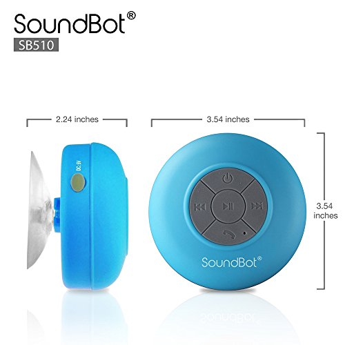 Wireless-Waterproof-Bluetooth-Speakers-Handsfree-Bathroom-Shower-Car-Speaker-w-Built-In-Mic-for-Xiaomi-Redmi-3-Pro-Xiaomi-Redmi-3S-Xiaomi-Redmi-4-Xiaomi-Redmi-4-Prime
