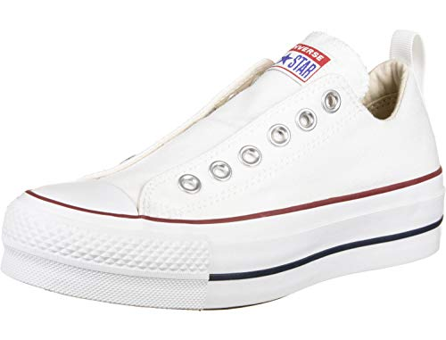Converse 563457C CTAS Lift Low Sneaker Weiss Chuck Taylor Slip