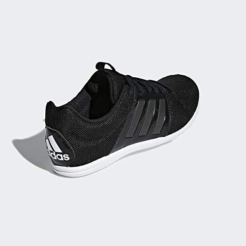 adidas Mädchen Marathon Tech Fitnessschuhe, Schwarz Negbás/Ftwbla 000, 35 EU