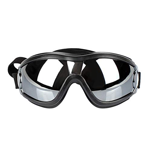 Etophigh Pet Dogs Waterproof Windproof Sonnenschutz UV-Schutz Brille Welpen Brille,schwarz